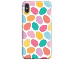 Gefärbtes Osterei-Muster iPhone XS Max Handyhülle