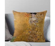 Gustav Klimt: Dame in Gold, Ölgemälde Kissen