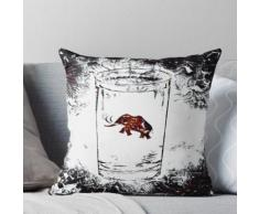 Mammut im Wasserglas Kissen