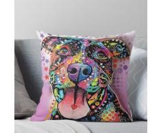 Hundegraffiti-Ölgemälde Kissen