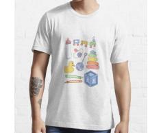 ABDL Adult Baby Spielzeug Tshirt Essential T-Shirt