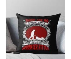 Anrufer ein Sprinkler Fitter sein Kissen