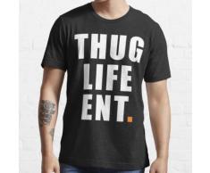Thug Life End Hip Hop Haus Musik Fitness Dance Bar Essential T-Shirt