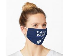 Nehmen Sie ein Schneebesen-Backspiel Maske