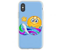 Osterei Emoji Flexible Hülle für iPhone XS