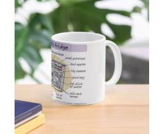 Idiomatischer Kühlschrank Tasse