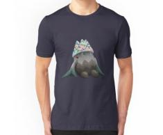 Snover mit Weihnachtsbeleuchtung Essential T-Shirt