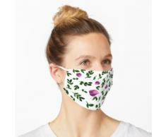 Blätter und Aquarell Rosenblätter Maske