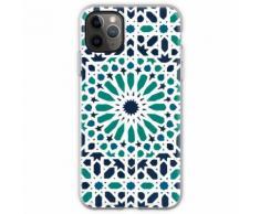 Marokkanische Fliesen-Zelij Flexible Hülle für iPhone 11 Pro Max
