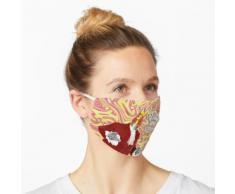 Lavalampe (rot) Maske