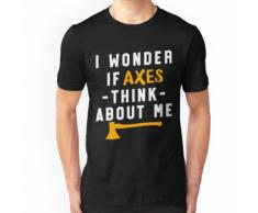 Axt Werfen Holzfäller Champion Bullseye Sport Damen Herren Shirt Essential T-Shirt