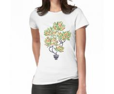 Bonsai-Baum - orange Frucht Frauen T-Shirt