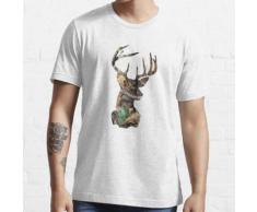Camo Hirschkopf Essential T-Shirt