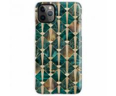 Art Deco Fliesen - Ozean iPhone 11 Pro Max Handyhülle