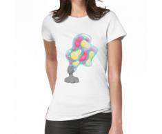 Lava Lampe Haare Frauen T-Shirt