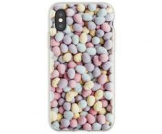 Pastell Ostereier Muster Flexible Hülle für iPhone XS