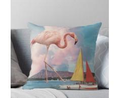 Flamingo Spielplatz Kissen