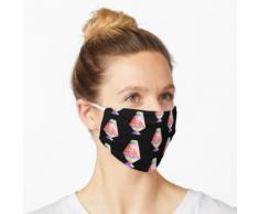 Lavalampe - Regenbogentropfen Maske