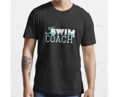 Schwimmtrainer-Swimmingpool-Lehrer-Lehrer-Geschenkprodukt Essential T-Shirt