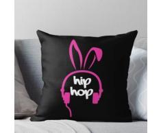 Hip Hop Osterhase für Mädchen Kissen