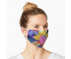 Stern Wunderkerze Maske