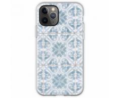 Hellblaue und weiße Azulejos-Fliesen Flexible Hülle für iPhone 11 Pro