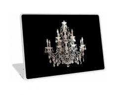 Kristallleuchter, Faux Silber Laptop Skin