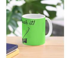 Rasenmäher - einfach drücken Tasse