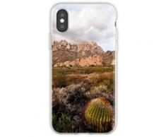 Las Cruces Wüste im Licht des späten Nachmittags Flexible Hülle für iPhone XS