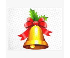 Weihnachtsglocke Klang der Liebe & amp; Frieden Puzzle
