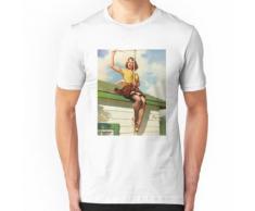 klassisch und edel aussehende Damen aus den späten 1930er bis 1970er Jahren. Essential T-Shirt