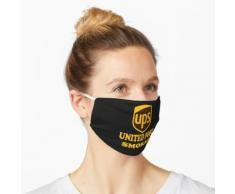 Ups United Post Smoker speichern die Usps T-Shirt Maske