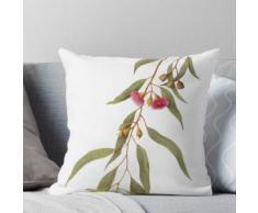 Eukalyptus Leukoxylon - Gelber Gummi mit roten Blüten Kissen