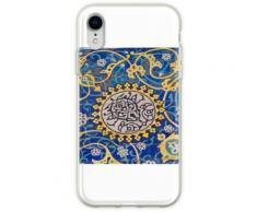 Usbekische Fliesen Flexible Hülle für iPhone XR