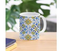 Vintage Azulejos Fliesen Tasse