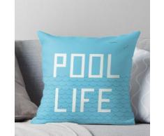 Schwimmbad Leben Kissen