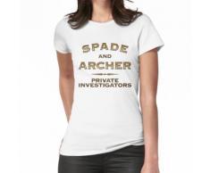 Spaten und Bogenschütze Frauen T-Shirt