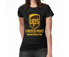 Ups United Post Smoker speichern die Usps T-Shirt Frauen T-Shirt