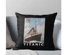 Titanisches Schiffs-Atlantik-Wannen-Seeunfall-Plakat 1912 Kissen