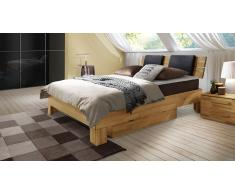 "Boxspringbett ""Port-Louis"" Buche"
