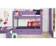 Etagenbett Color Violett
