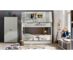 """Hochbett für Kinder """"Hangout"""" Weiß"""