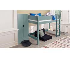 Hochbett für Kinder Color Grau