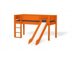 Hochbett für Kinder Color Orange