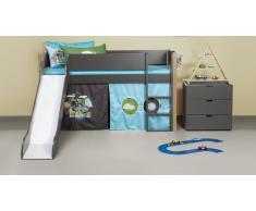 Hochbett für Kinder Color Blau