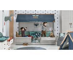 Kinderbett Ranger Grau