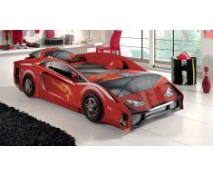 Autobett rot Rot