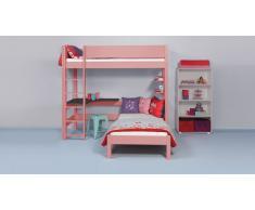 Etagenbett Color Rosa