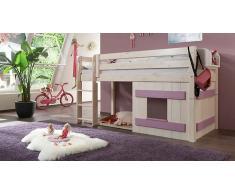 """Hochbett für Kinder Paradise"""" Weiß"""