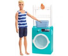 Ken und Waschmaschine Spielset (32cm)